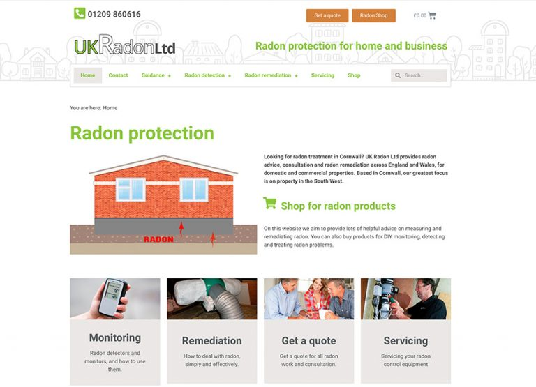website uk radon