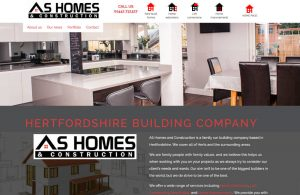 Website for building company
